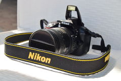 Камера Nikon стоковое изображение rf