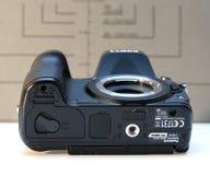 Камера Panasonic Lumix DMC-GH4 mirrorless Стоковые Фотографии RF