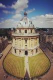 камера radcliffe, университет Оксфорда стоковые изображения rf