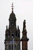 Камеры города в квадрате Джордж, Глазго, Шотландии Стоковое Фото