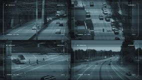 Камеры движения CCTV сток-видео