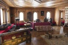 Камеры музея в Zaryadye Камеры бояр Romanov Комната боярин Женщины половинные Стоковое фото RF