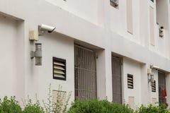 Камеры слежения на стене Стоковые Фото