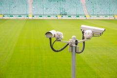 Камеры слежения контролируя тангаж спорта Стоковое Изображение RF