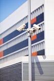 Камеры слежения на поляке Стоковое Фото
