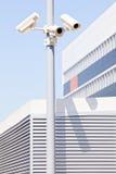Камеры слежения на поляке Стоковое фото RF