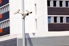 Камеры слежения на поляке Стоковое Изображение