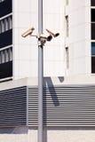 Камеры слежения на поляке Стоковое Изображение RF