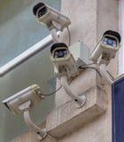 Камеры слежения на стене Стоковые Фотографии RF