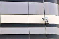 Камеры слежения одного CCTV на стене Стоковые Фотографии RF