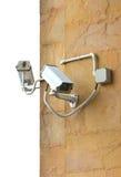 2 камеры слежения CCTV. Стоковое фото RF