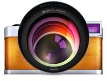 Камеры иллюстрация вектора