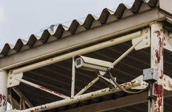 Камеры cctv безопасностью Стоковое фото RF