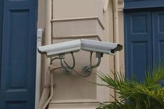 Камеры CCTV Видеокамеры наблюдения Стоковые Фото
