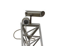 Камеры CCTV установленные в комплект коробки. Стоковые Фото
