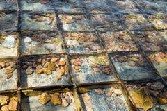 Камешек в шлюпке развалины Стоковое Изображение RF