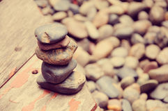 Камешки и камни Стоковая Фотография RF
