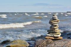 Камешки моря Стоковая Фотография RF