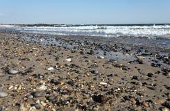 Камешки на пляже heligoland Стоковая Фотография