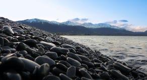 Камешки озера бортовые Стоковые Изображения