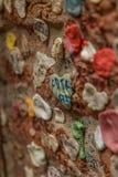 Камедь на стене Стоковые Изображения RF