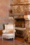 каминная доска интерьера мебели Стоковые Фото