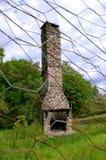 камин вне устанавливает Стоковое Изображение RF