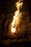 камин Стоковая Фотография