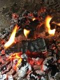 камин стоковое фото rf