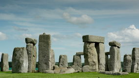 Камни Англия каменного henge монолитовые акции видеоматериалы
