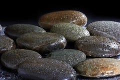 Камни базальта Стоковое Изображение RF