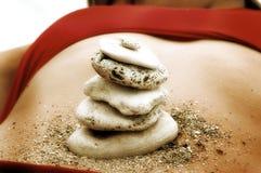 камни баланса Стоковые Фотографии RF