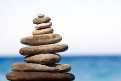 камни баланса Стоковое фото RF