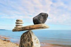 Камни веса стоковая фотография