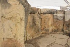 Камни виска Tarxien огромные | megalithic стоковые фото