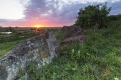 Камни времени Стоковые Изображения RF