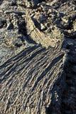 Камни вулканической подачи дают красивую структуру Стоковая Фотография