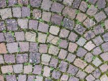 Камни вычисляемые концом-вверх на предпосылке следа Стоковое Фото
