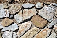 Камни в коричневых, серых оттенках, минералах, абстрактной предпосылке Стоковое фото RF