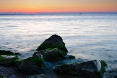 Камни в море Стоковая Фотография RF