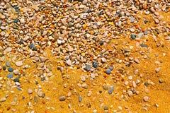 Камни в песке Стоковое фото RF