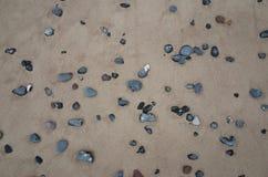 Камни в песке Стоковая Фотография RF