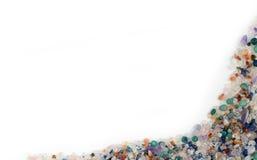 камни граници самоцветные Стоковые Изображения RF
