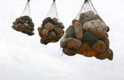 камни изолированные группами 3 Стоковая Фотография