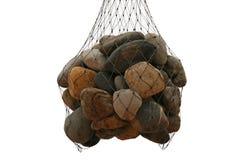камни изолированные группой Стоковые Фотографии RF