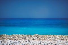 Камни и море Стоковое Изображение