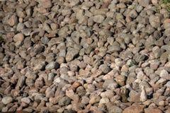 Камни камешка на конце берега вверх стоковые фото