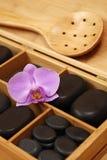 камни массажа стоковая фотография