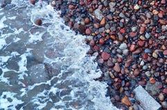 Камни моря стоковое фото