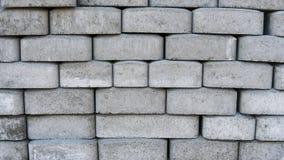 Камни мостоваой Вымощая слябы Булыжник на паллетах готова к использованию стоковая фотография rf